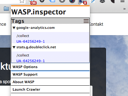 WASP – one of the top debugging tools for web analyst