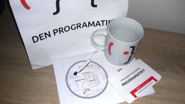 Krátký report z prvního Dne programatiky
