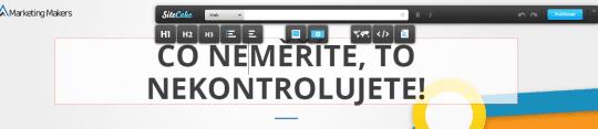 Když je WordPress příliš velký – přehled malých CMS systémů a ukázka využití Sitecake