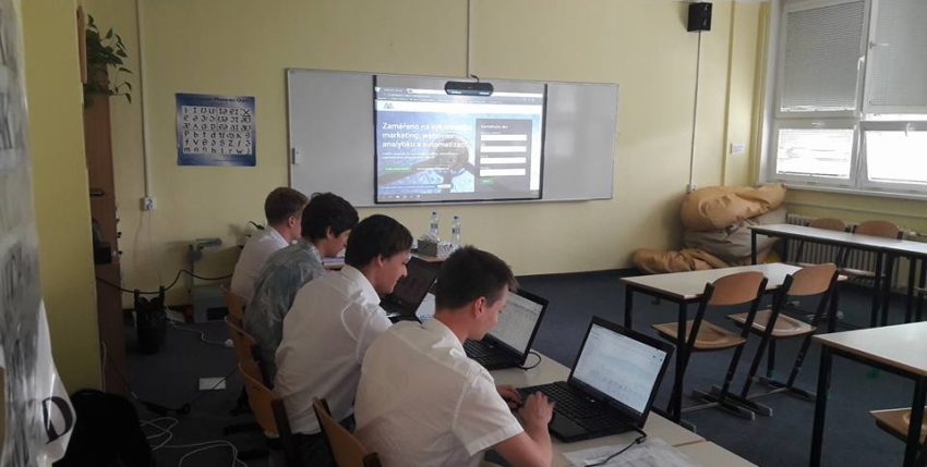 Assessment centrum pro studenty SPŠ Prosek