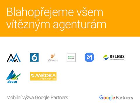 Zvítězili jsme v mobilní výzvě Google Partners