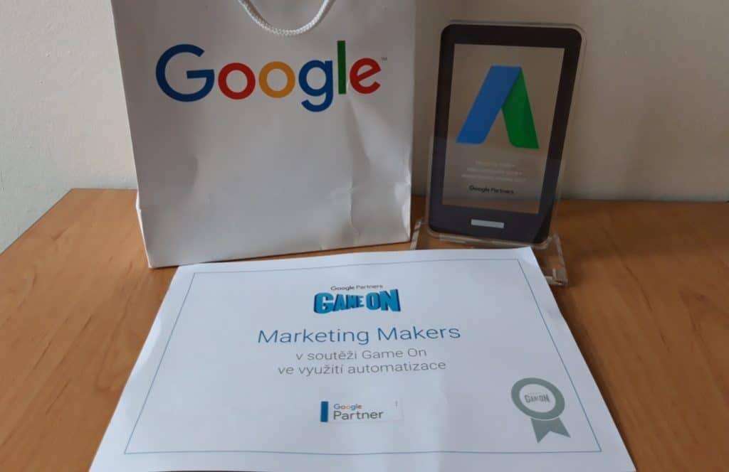 Game on soutěž Google